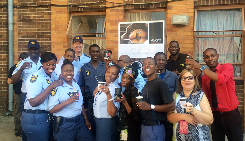 Avanti Coffee Celebrates International Coffee Day with Randburg Police Station