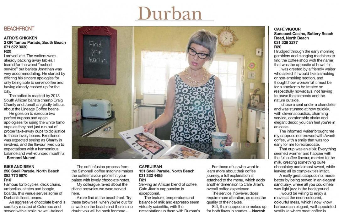A Cup of Avanti Coffee – Durban's Elixir