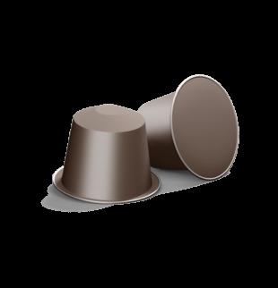 2 brown avanti coffee capsules